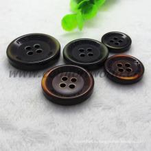 4 отверстия красивая кнопка для пальто