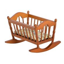 Best Price for for Vintage Dollhouse Furniture Vintage dollhouse furniture rocking baby cribs in wood supply to Poland Factories