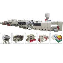 PVC-Kruste Schaum Board Extrusionslinie