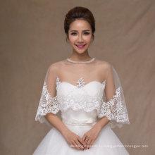 Aoliweiya Свадебные палантины Свадебные куртки шаль невесты с кружева