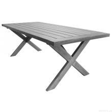 Jardim conjunto mobília ao ar livre do pátio mesa Metal