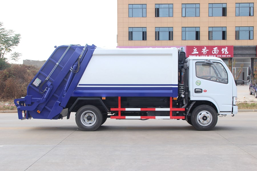Press Pack Garbage Truck Factory