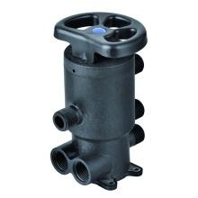 Válvula de filtro de água central