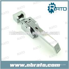 refrigerador de acero inoxidable con cerradura y llave