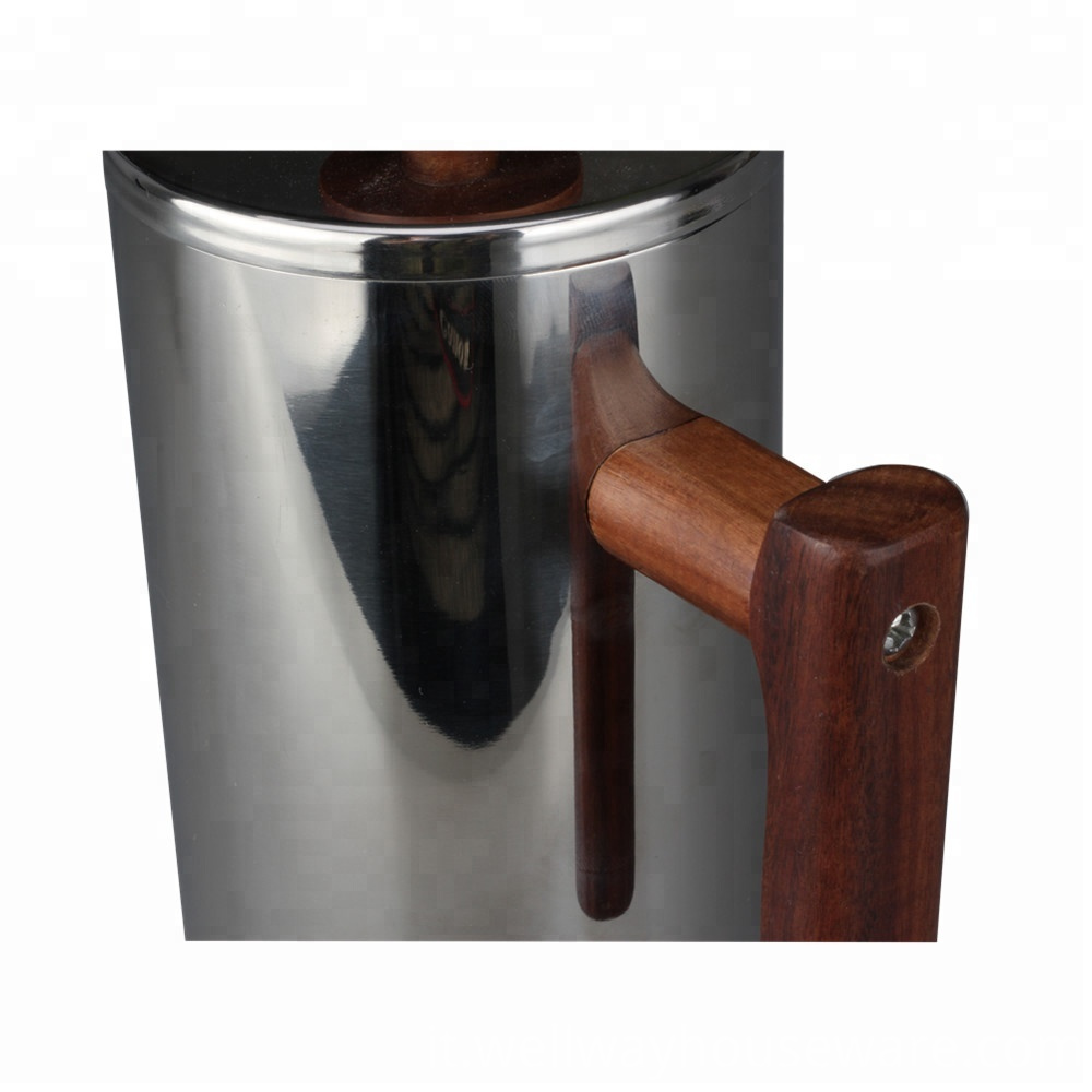 With Wooden And Knob Wooden Handle