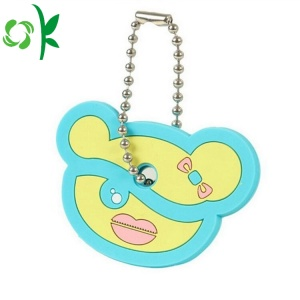 Cartoon Silicone Key Cover Gullig Animal Key Holder