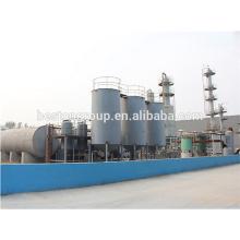 Destilación de petróleo crudo, planta de refinería de petróleo continua de fabricación de China con CE ISO.