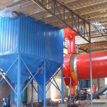 dust collector system for blast furnace gas