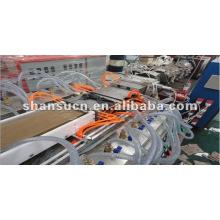 WPC / PVC Janelas e portas de perfil que faz a máquina