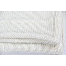 Confortável Knit Cashmere Baby Blanket