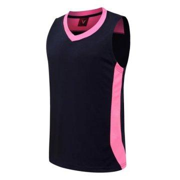 Новый стиль спортивной одежды Оптовые дешевые обратимые баскетбольная форма