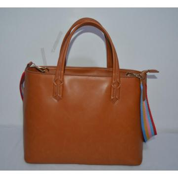 Fancy Nylon Strap PU Frauen Handtaschen (ZXH428)