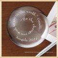 Arch Transparent Crystal Briefbeschwerer - Kostenlose Gravur Logo