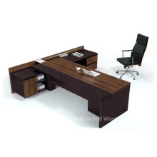 Moderne hochwertige L Form Hölzerne Executive Chef Tabelle (HF-TWB105)