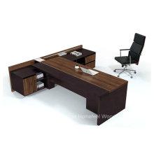 Современный высококачественный L-образный деревянный стол для руководителя (HF-TWB105)