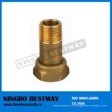 Accesorios de medidor de agua de latón forjado caliente Dn15 a Dn50 (BW-705)