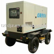 Grupos de gerador diesel móveis do quadro silencioso