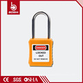 4mm Diameter Thin Shackle Safety Padlock(BD-G71) for Industrial Safety Lockout Using