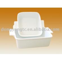 Placa de microonda de porcelana al por mayor directa de fábrica