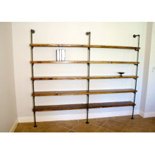 Live Edge shelves - Industrial shelving
