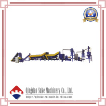 Plastic Recycling and Granulating Machine Line