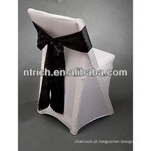 Capa de cadeira do spandex lycra elástica para cadeiras dobráveis