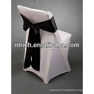 Couverture de chaise de spandex lycra élastique pour chaises pliantes