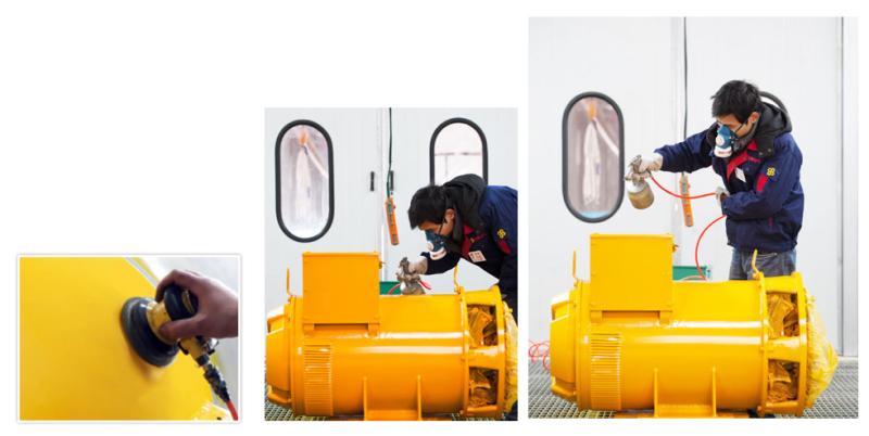 Single Bearing Generator