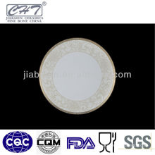 A023 Royal fine bone porcelain floral decorative salad plates