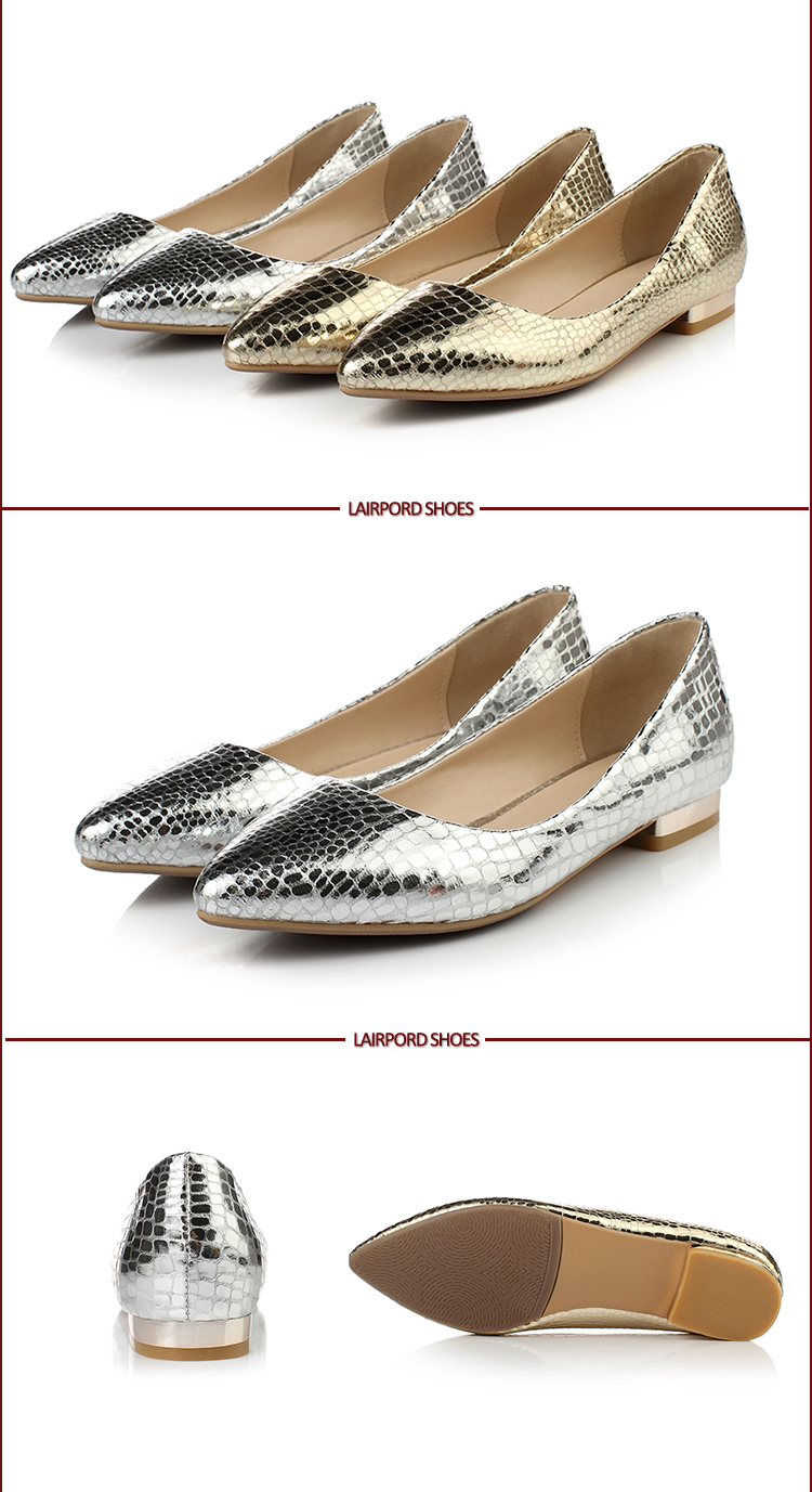 flat shoes pump