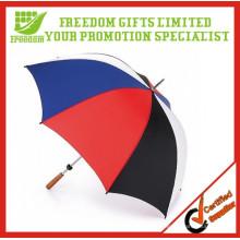 Paraguas de golf grande de alta calidad a prueba de viento promocional