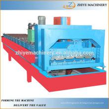 Strukturelle Verglasung Dachblech Rollenformmaschine ZY-GR055
