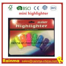 2016 Hot vender Promorion Mini Highlighter com logotipo personalizado