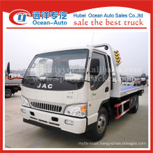 JAC 4X2 heavy duty truck 4TON road wrecker tow truck for sale