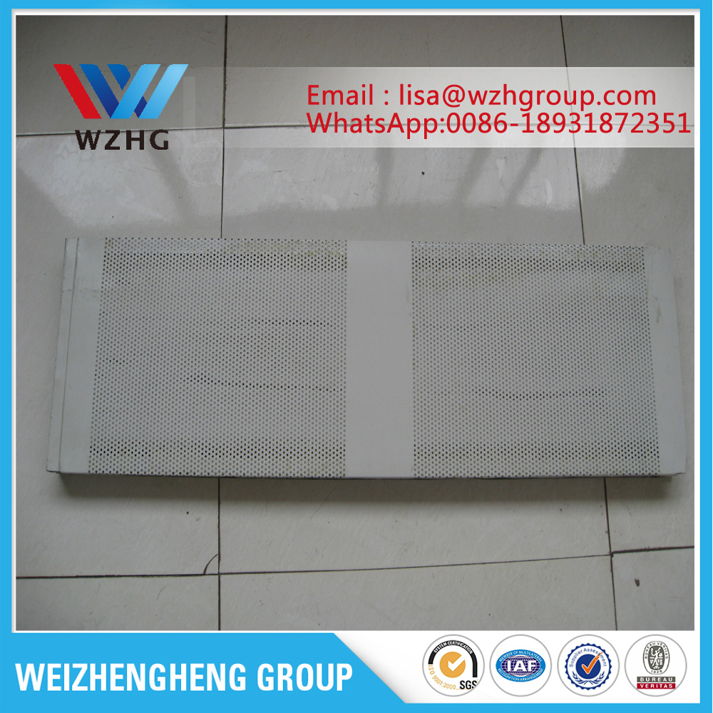 Acoustic panel for workshop wall panel