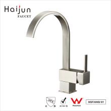 Haijun New Design ISO 9001:2008 Brass Single Hole cUpc Kitchen Faucet