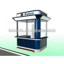Design e fabricação da cabine de proteção TGT-3