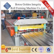 Превосходное качество Цветная стальная крыша Машина для производства рулонной плитки