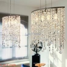 Американский стиль арт-деко светильники светло-светлая гостиная хрустальная люстра