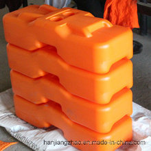 PE Maded Corlorful Molded Temporary Fencing Feet / Base / Block