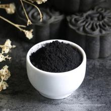 Charbon actif noir avec pigment noir de carbone