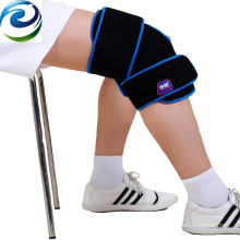Sichuan Fabriqué en PVC Velvet Nylon Knee Cold Gel Ice Pack