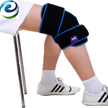 Sichuan fabricado PVC Velvet Nylon Knee Cold Gel Ice Pack