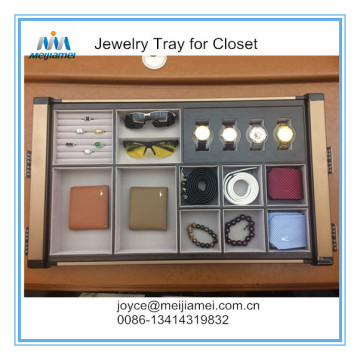 Cheap price for Wardrobe Storage Box Jewelry tray for walk in closet supply to Indonesia Importers