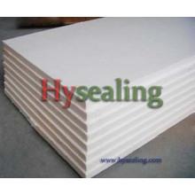 Placa de fibra cerâmica para alta temperatura
