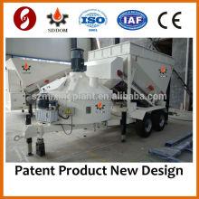 NEUE MB1200 Kleine mobile Beton-Dosieranlagen zum Verkauf, 10-16m3 / h, wie Fibo Intercon