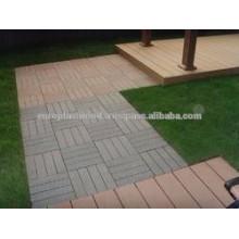 Parfait avec le produit WPC decking tile 30 * 30mm