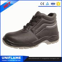 Le travail de sécurité de semelle d'unité centrale respirable d'orteil d'acier chausse S1p Ufa076