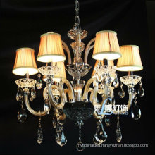 Italian Blown Glass Chandelier Lamps