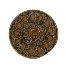China Crafts Manufacturer Artigifts Coin Maker Custom 2D Embossed Europe Coin Dies Engraved Souvenir Antiqu Gold Metal Coin